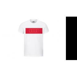 Audi pánske tričko kruhy
