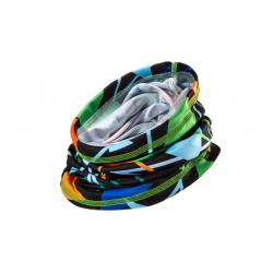 ŠKODA Multifunkčná šatka s farebným motívom
