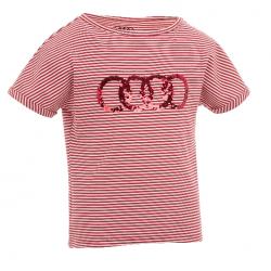 Audi dievčenské tričko