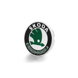 Stredový kryt s logom ŠKODA
