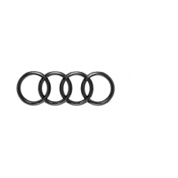 Audi Q8 nápis kruhy