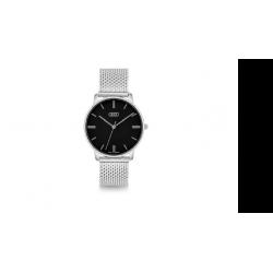 Audi dámske hodinky, strieborné