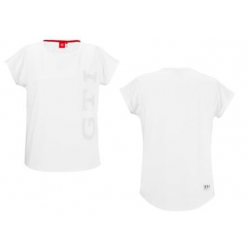 GTI tričko biele dámske
