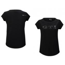 GTI dámske tričko čierne