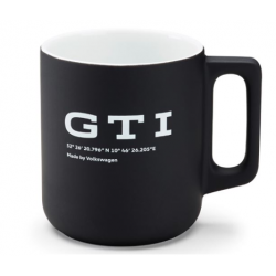 GTI hrnček čierny