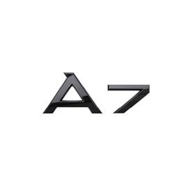 Audi A7 nápis