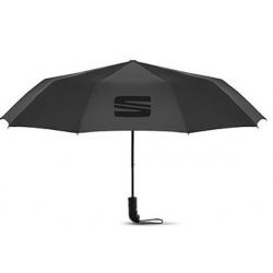 Skladací dáždnik SEAT, čierny