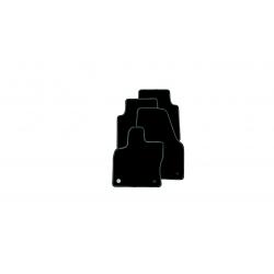 ŠKODA Karoq textilné koberce Prestige, sada čiernošedý okraj