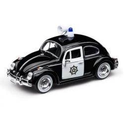 Model Volkswagen chrobák, polícia