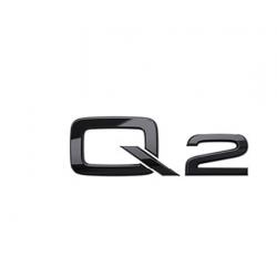 Audi Q2 nápis