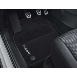 VW T-Roc textilné koberce, sada