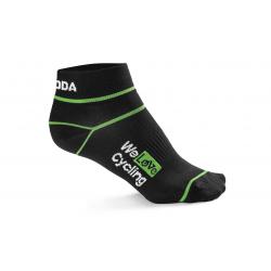 """Čierne športové ponožky """"We love cycling"""""""