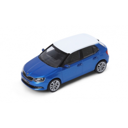 ŠKODA Fabia 1:43, blue race